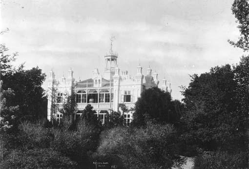 Aldersrovej ca. 1905. Villa Aldersro