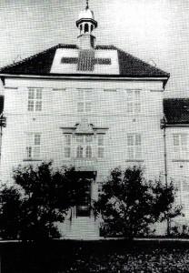 Hovedbygningen under 2.verdenskrig