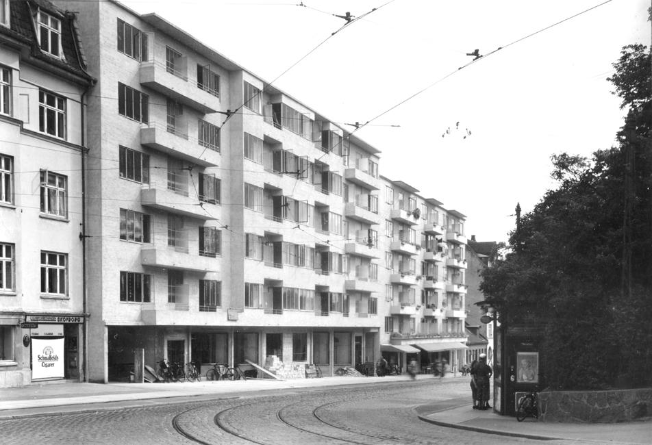 Klintegården 1936 set fra Skovvejen