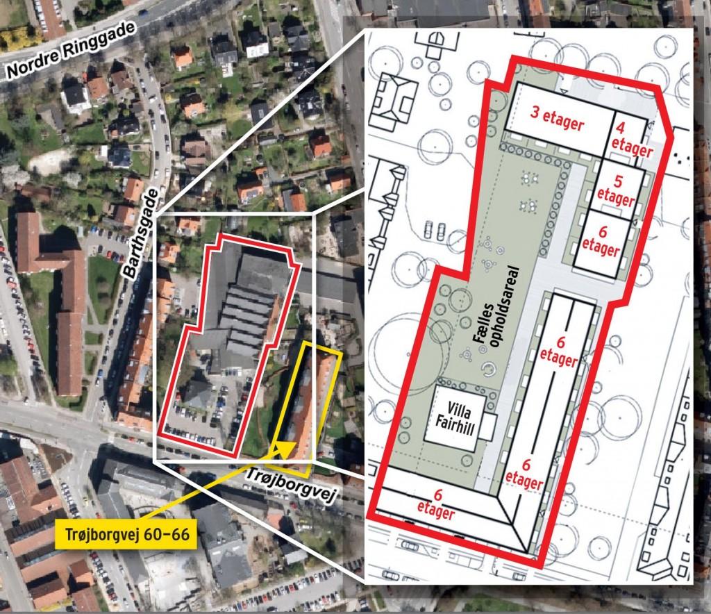 plan villa Fairhill